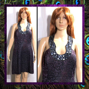 Purple Cocktail Dress by Laundry #090